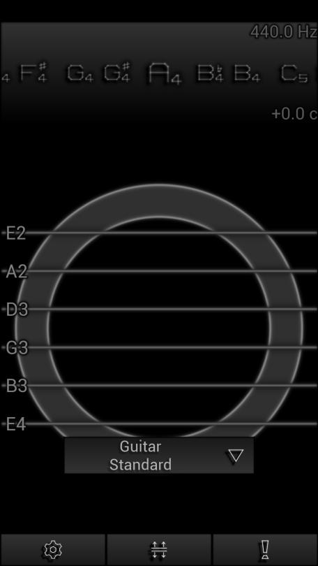 Pitchlab - Definir instrumento 1