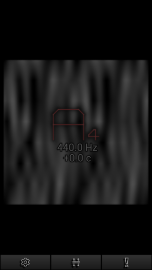 Pitchlab - Pantalla afinador 3